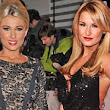Stylish sisters! Sam and Billie Faiers steal the show on the red carpet as they arrive at the National Television Awards in floor-length gowns