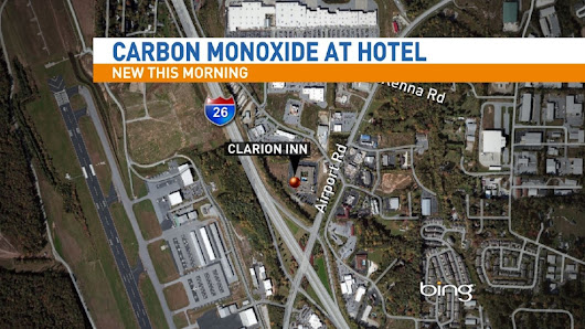 Hotel near Asheville airport evacuated due to carbon monoxide
