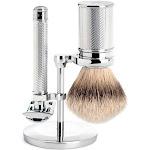 MUHLE Chrome Silvertip Badger & Closed Comb Safety Razor Shaving Set