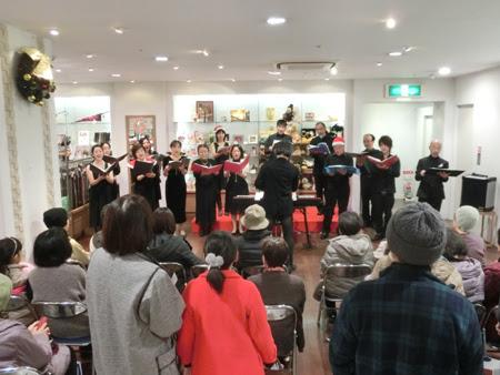 うたおに クリスマスコンサート,津 うたおに 合唱団,松菱 うたおに,松菱百貨店 クリスマスイベント2014