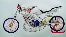 50++ Sketsa Motor Drag Ninja