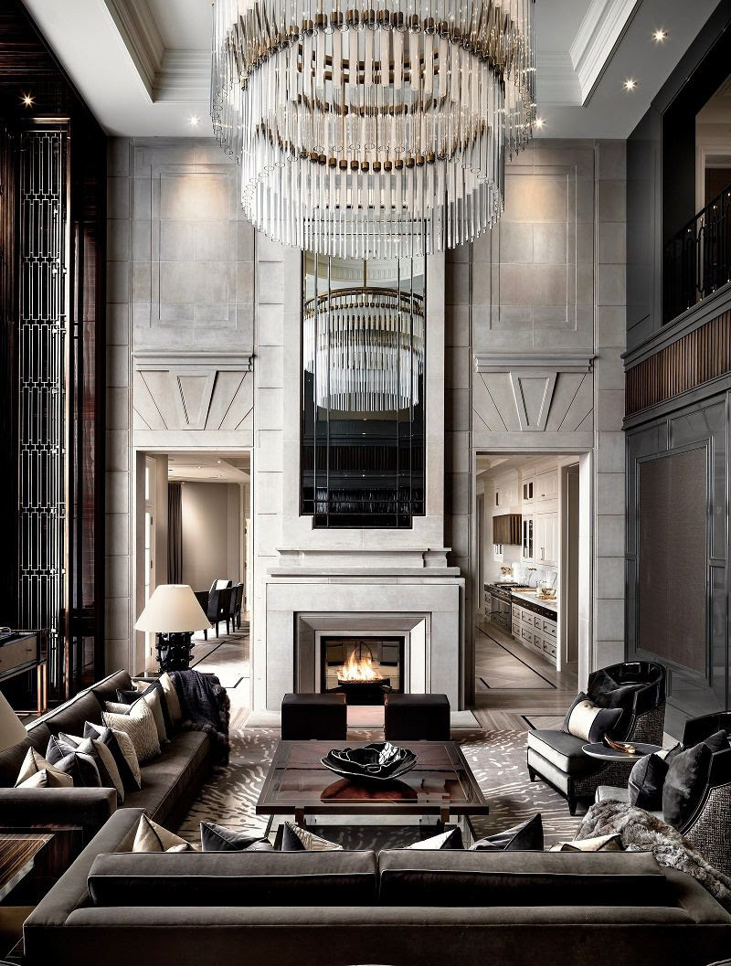 luxury chinese style home | Interior Design Ideas.