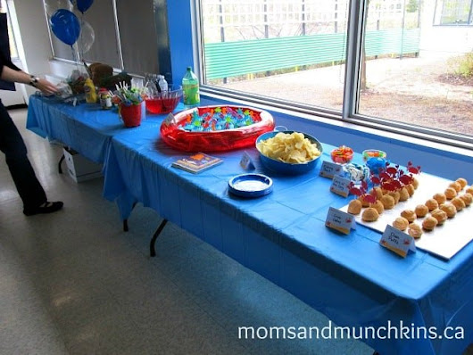 First Birthday Party - Under The Sea - Moms & Munchkins