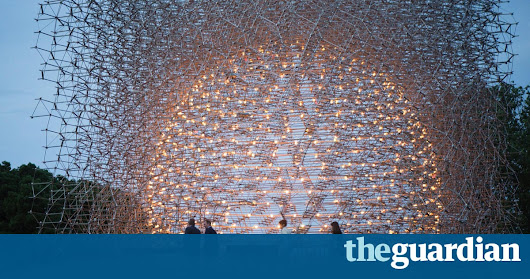 The sculpture controlled by bees: Wolfgang Buttress's Hive | Environment | The Guardian