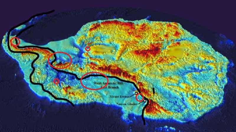 5 Map Of Settlements In Antarctica