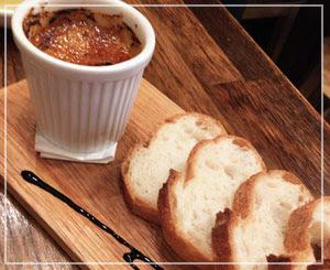 津田沼「ビストロコモ食堂」にて、新鮮な美味しさ、あん肝のブリュレ!