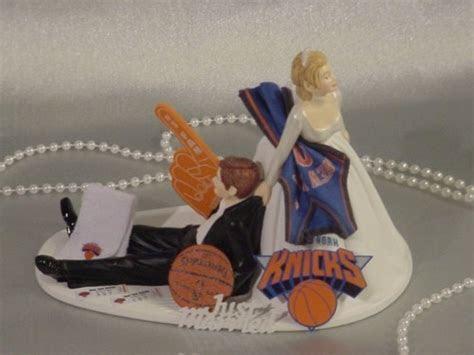 New York Knicks Wedding Cake Topper   Basketball