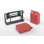 RC4WD 1/10 Dual Portable Jerry Cans with Mount RC4VVVC0698