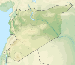 Homs trên bản đồ Syria