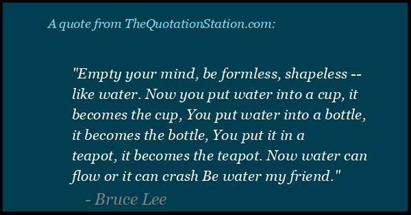 The Quotation Station