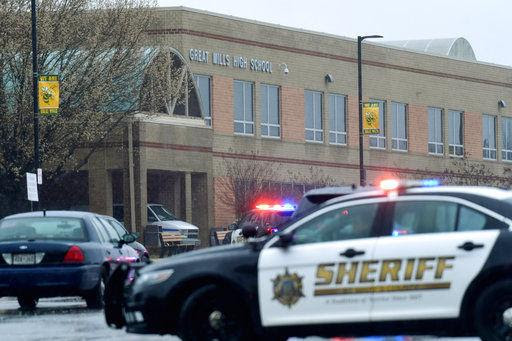 Sheriff: 1 student dead, 2 wounded in Maryland high school