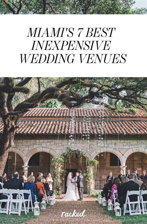 Seven of Miami's Most Affordable and Attractive Wedding