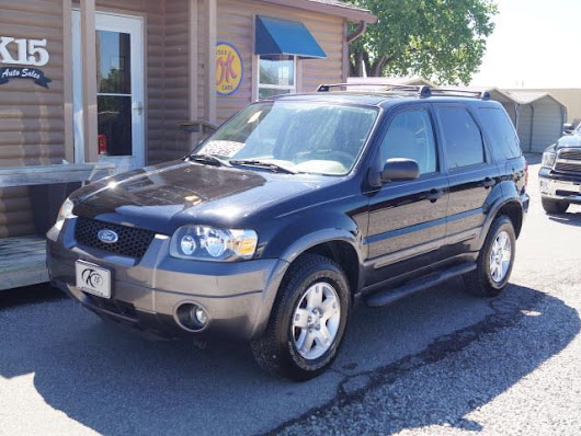 Used 2006 Ford Escape XLT Sport 2WD for Sale in Derby KS 67037 K-15 Auto Sales
