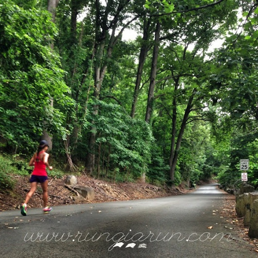 #RunCoach: Running UpHill