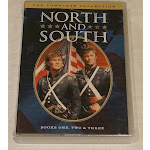 NORTH AND SOUTH THE COMPLETE COLLECTION BOOKS ONE TWO & THREE (1,2,3) DVD NEW