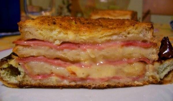 Mil artes mujer pastel de jam n y queso for Comidas hechas en microondas