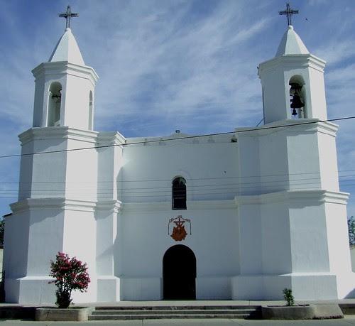 Templo de San Pedro en Aconchi