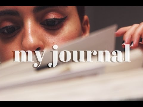 my journal // inspired by Orion Carloto