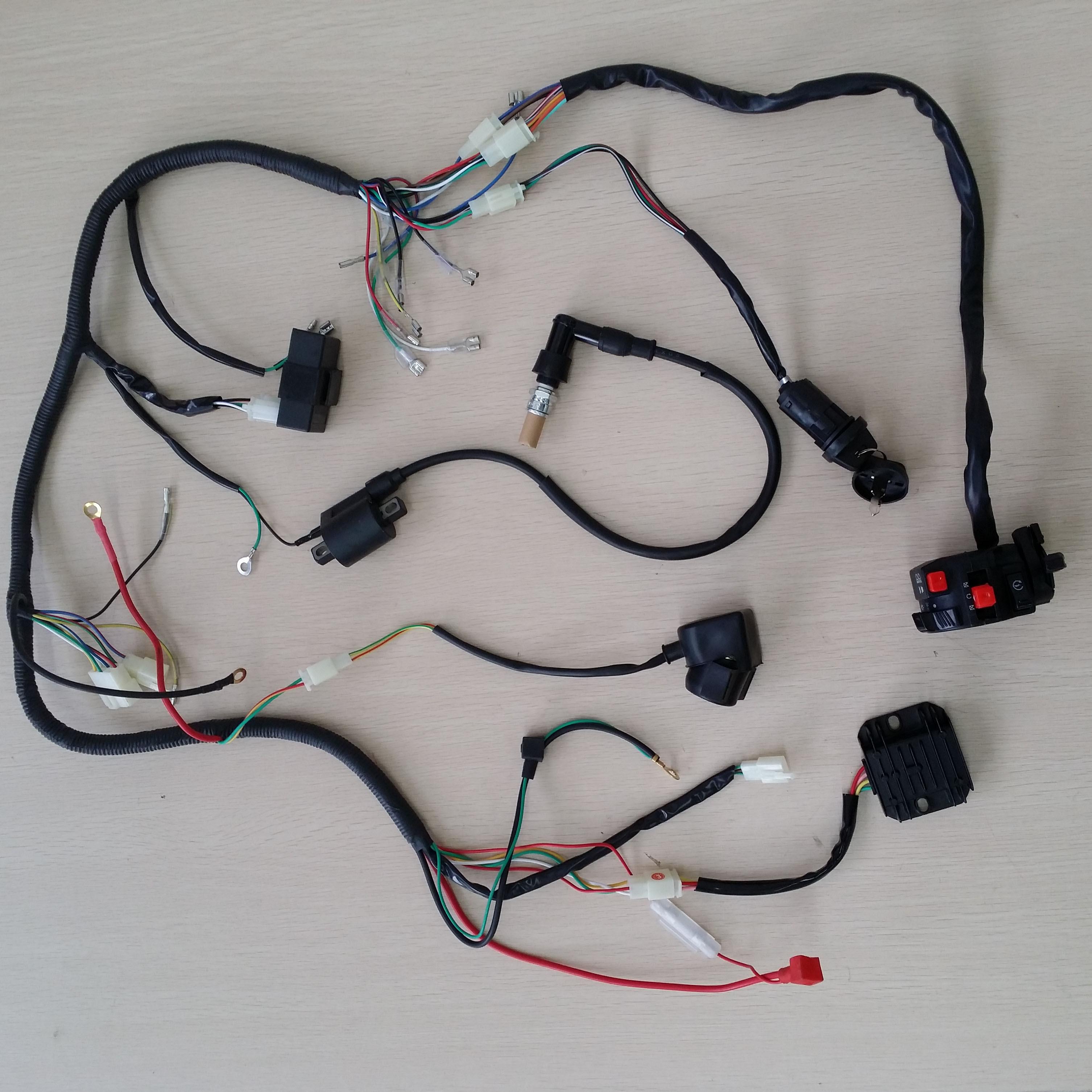 Atomic Dirt Bike 250 Wiring Diagram