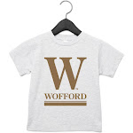 NCAA Wofford Terriers PPWOFF01, G.A.3001T, AHTR, 2T Size 2T AthleticHeather