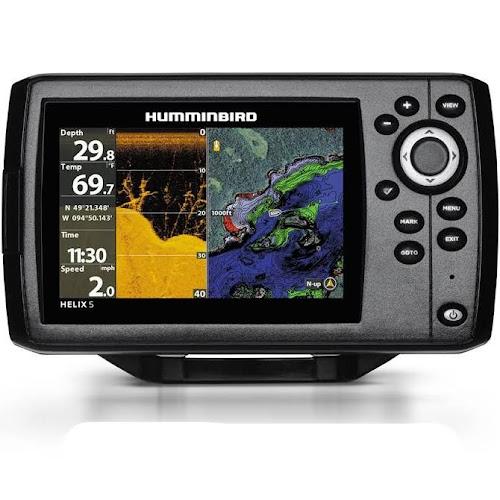 Humminbird 410220-1NAV Helix 5 CHIRP Di GPS G2 with