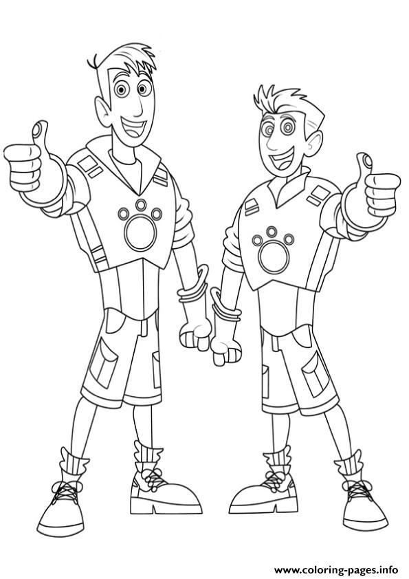 Kratt Brothers Coloring Pages At Getdrawingscom Free For Personal