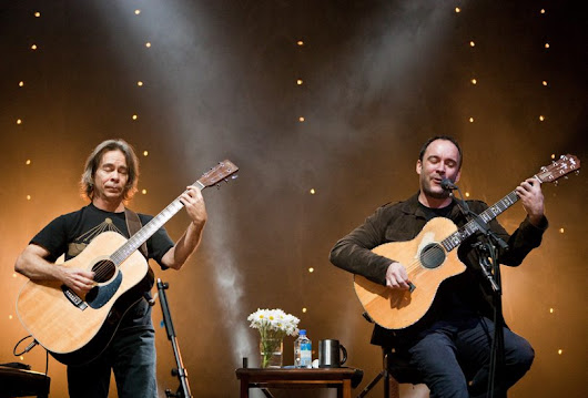 Dave Matthews And Tim Reynolds 2017 Tour Dates - Tickets on Sale