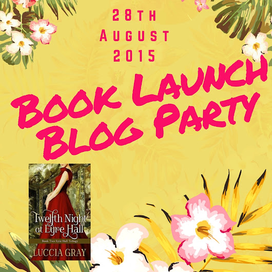 Book Launch Blog Party: Theme BOOKS