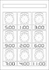 Saat Etkinlikleri - Saat Çalışmaları Soruları