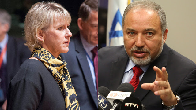 the swedes throw a tantrum over israel