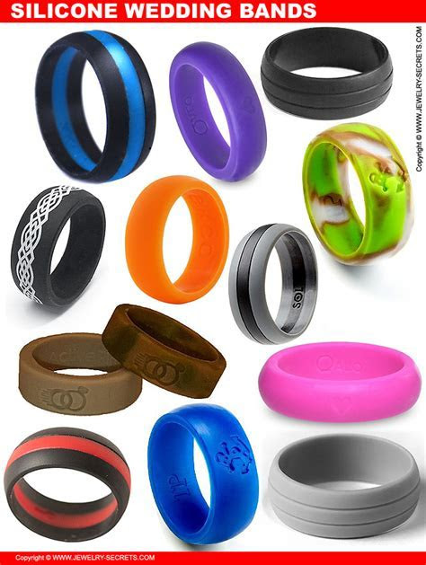SILICONE WEDDING RINGS FOR THE ACTIVE LIFESTYLE ? Jewelry