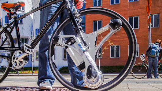 GeoOrbital Wheel: Tron-Inspired Add-On Makes Any Bike Electric