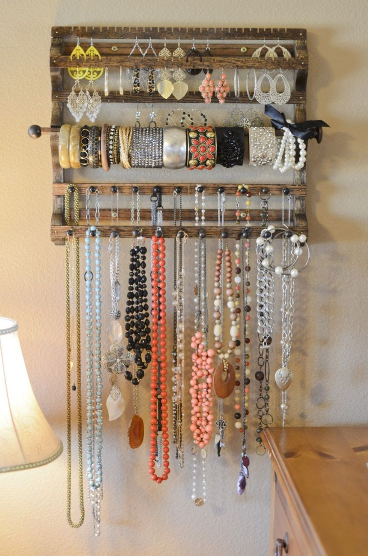 jewelry organizer from Spirit Ranch Creations etsy shop.