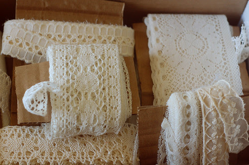 lace, organized