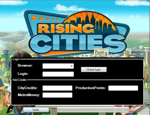 Rising Cities Hack Tool for Android and iOS 2013