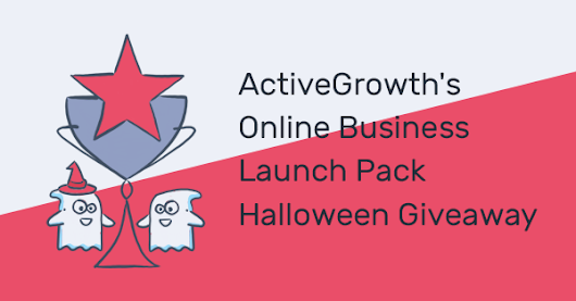 Enter To Win ActiveGrowth's Halloween Giveaway...$1500 worth of powerful resources to START & GROW your online business!