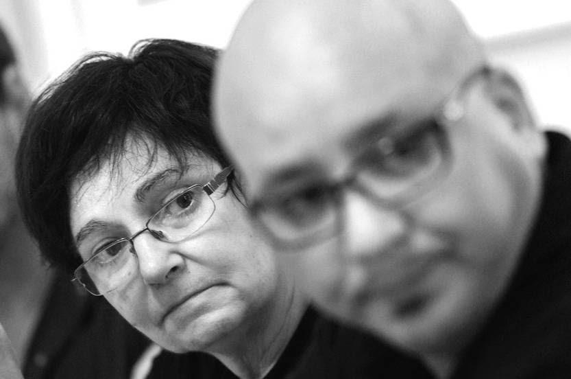 Graciela Almeida y José Olivera.Foto: Pablo Vignal