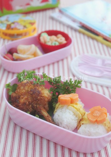 Bento Lunch Box by Fitri D. // Rumah Manis