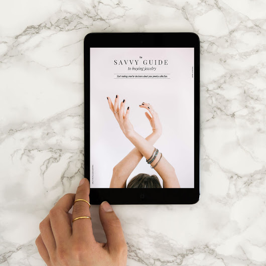 FREE DOWNLOAD: The Savvy Guide to Buying Jewelry E-book