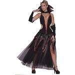 Haunted Ballroom Sexy Vampira Costume Adult Medium/Large