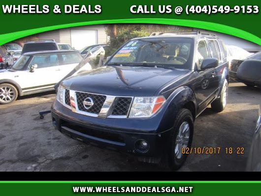 Used 2006 Nissan Pathfinder LE 2WD for Sale in Atlanta GA 30329 Wheels And Deals