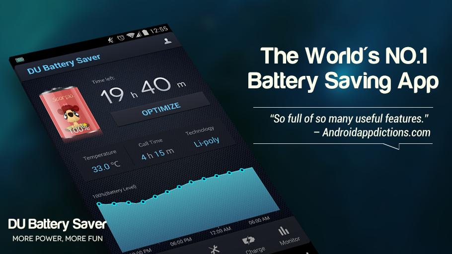 DU Battery Saver risk تطبيقات اندرويد مضرة