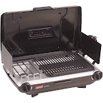 Coleman PerfectFlow Portable Camp Propane Grill/Stove, Black