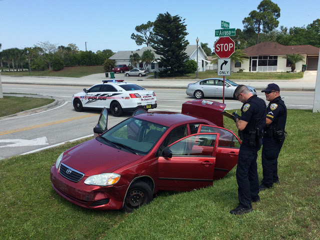 Man In Custody After Port St Lucie Police Chase