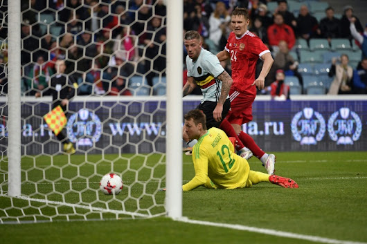 Bukharov saves Russia in first Sochi match - World Soccer Talk