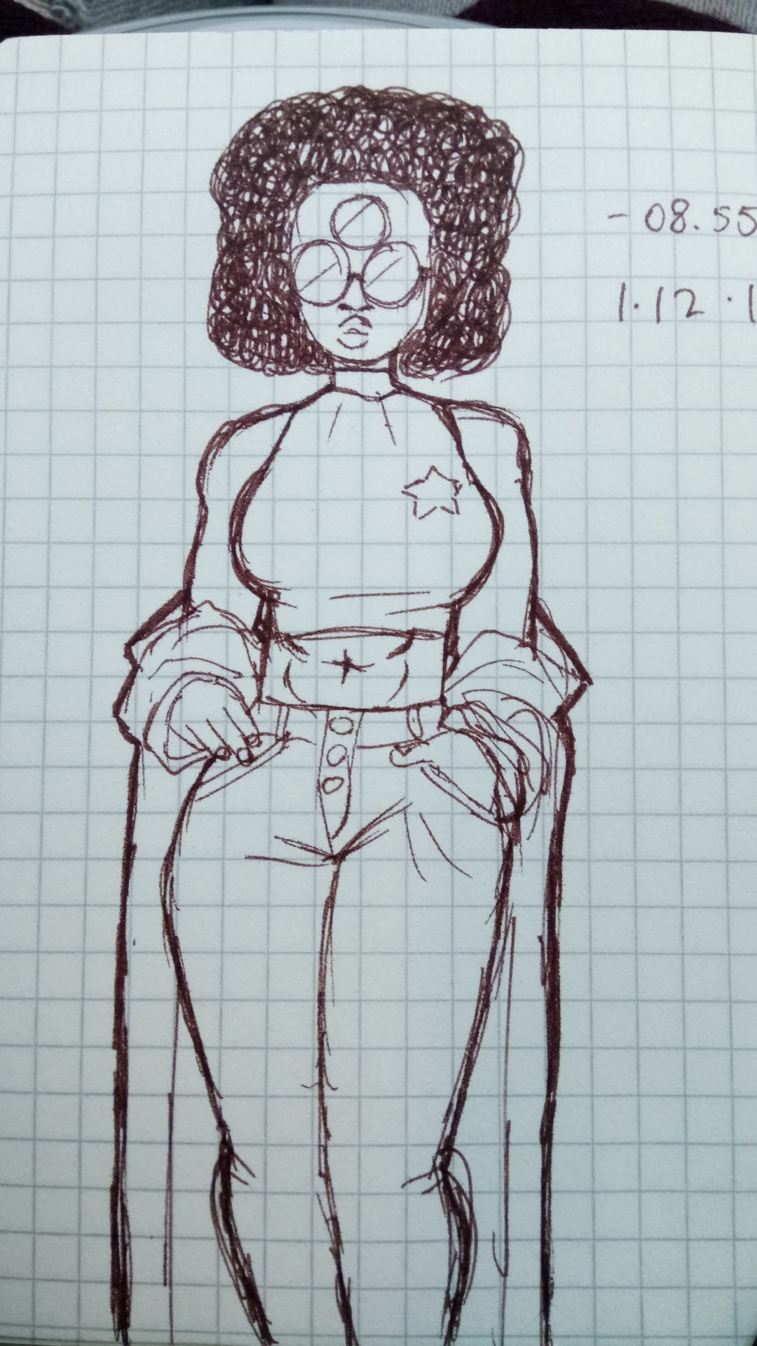 i draw the cheeto puff a lot