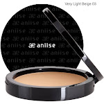 Lightweight Compact Powder Foundation lasts all day. Flawless finish 03 Very Light Beige