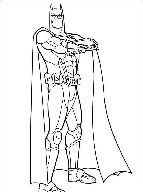 Batman Boyama Sayfasi 10 Okul öncesi Etkinlik Faliyetleri