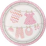 Creative Converting Dinner Plate Bundle Joy Girl 12/8CT