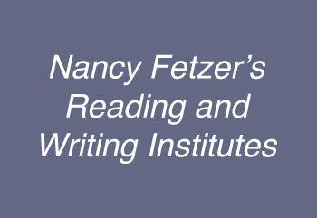 Nancy Fetzer's Literacy Connections, Nancy Fetzer Learning Products, Nancy Fetzers Educational Materials